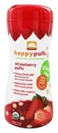 Image of HappyBaby - Happy Puffs Organic SuperFoods Strawberry - 2.1 oz.