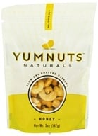 Yumnuts Naturals - Slow Dry-Roasted Cashews Honey - 5 oz. by Yumnuts Naturals