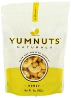 Yumnuts Naturals - Slow Dry-Roasted Cashews Honey - 5 oz. - $4.29