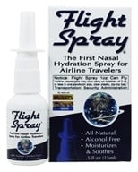 Flight Spray - Nasal Hydration Spray for Airline Travelers - 0.5 oz.