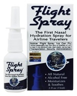Flight Spray - Nasal Hydration Spray for Airline Travelers - 0.5 oz. (897079000976)