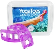 YogaToes - Yoga Toes Extra-Small - 7 & Under Womens 6 & Under Mens Purple