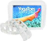 YogaToes - Yoga Toes Small - 7.5 - 11 Womens 6.5 - 9.5 Mens Clear by YogaToes