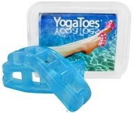YogaToes - Yoga Toes Medium - 11.5 & Larger Womens - 10-13 Mens Sapphire Blue by YogaToes
