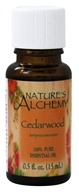 Image of Nature's Alchemy - 100% Pure Essential Oil Cedarwood - 0.5 oz.