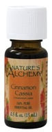 Nature's Alchemy - 100% Pure Essential Oil Cinnamon Cassia - 0.5 oz., from category: Aromatherapy