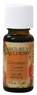 Nature's Alchemy - 100% Pure Essential Oil Cinnamon Cassia - 0.5 oz. (079565003061)