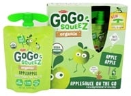 Materne - GoGo Squeez AppleSauce On The Go Apple Apple - 4 Pack/3.2 oz. (890000001103)