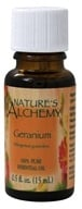Nature's Alchemy - 100% Pure Essential Oil Geranium - 0.5 oz., from category: Aromatherapy