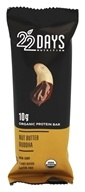 22 Days Nutrition - Vegan Protein Bar Nut Butter Buddha Crunch - 1.7 oz.
