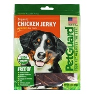 Pet Guard - Organic Chicken Jerky For Dogs - 3 oz. by Pet Guard