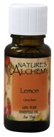 Nature's Alchemy - 100% Pure Essential Oil Lemon - 0.5 oz. (079565003184)