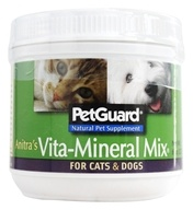 Pet Guard - Anitra's Vita-Mineral Mix For Cats & Dogs - 8 oz. - $11.69