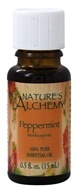 Image of Nature's Alchemy - 100% Pure Essential Oil Peppermint - 0.5 oz.
