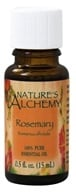 Nature's Alchemy - 100% Pure Essential Oil Rosemary - 0.5 oz. (079565003269)