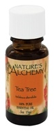 Image of Nature's Alchemy - 100% Pure Essential Oil Tea Tree - 0.5 oz.