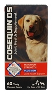 Cosequin - DS Double Strength Plus MSM Joint Health Supplement for Dogs - 60 Chewable Tablets (755970407211)