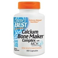 Doctor's Best - Calcium Bone Maker Complex - 180 Capsules by Doctor's Best