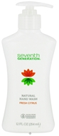 Image of Seventh Generation - Natural Hand Wash Fresh Citrus - 12 oz.