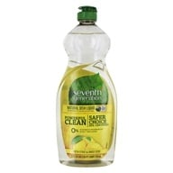 Seventh Generation - Natural Dish Liquid Fresh Citrus & Ginger - 25 oz. - $3.88