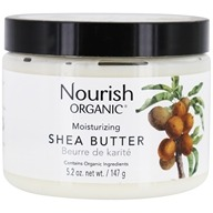 Image of Nourish - Intensive Moisturizer Organic Raw Shea Butter - 5.5 oz. LUCKY DEAL