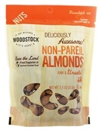 Woodstock Farms - All-Natural Non-Pareil Almonds Raw & Unsalted - 8 oz. (042563008383)