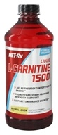 MET-Rx - L-Carnitine Liquid 1500 Natural Lemon - 16 oz.