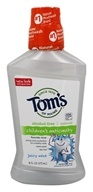 Tom's of Maine - Children's Anticavity Fluoride Rinse Alcohol-Free Juicy Mint - 16 oz. (formerly Natural Fluoride Rinse Anticavity)
