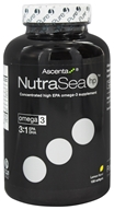 Ascenta Health - NutraSea Hp Concentrated High EPA Omega 3 Supplement Zesty Lemon Flavor - 120 Softgels