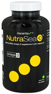 Ascenta Health - NutraSea +D EPA & DHA Omega 3 Supplement With Vitamin D Apple Flavor - 120 Softgels