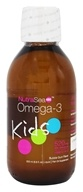 Ascenta Health - NutraSea Kids Omega 3 Supplement With EPA, DHA, GLA And Vitamin D Cotton Candy - 6.8 oz. (850652000336)