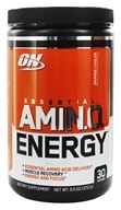 Image of Optimum Nutrition - Essential Amino Energy 30 Servings Orange Cooler - 0.6 lbs.