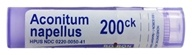 Boiron - Aconitum Napellus 200 CK - 80 Pellets, from category: Homeopathy