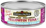 Crown Prince Natural - Chunk Light Yellowfin Tuna - 5 oz., from category: Health Foods
