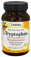 Lidtke Technologies - L-Tryptophan 500 mg. - 60 Capsules, from category: Nutritional Supplements