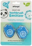 Dr. Tung's - Snap-On Kid's Toothbrush Sanitizer - 2 Pack, from category: Health Aids