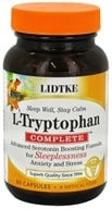 Image of Lidtke Technologies - L-Tryptophan Complete Advanced Serotonin Boosting Formula - 60 Capsules