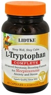 Lidtke Technologies - L-Tryptophan Complete Advanced Serotonin Boosting Formula - 60 Capsules, from category: Nutritional Supplements