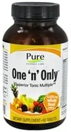 Image of Pure Essence Labs - One 'n' Only Superior Tonic Multiple - 60 Tablets