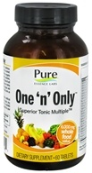 Pure Essence Labs - One 'n' Only Superior Tonic Multiple - 60 Tablets - $25.99