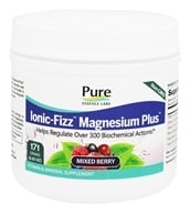 Pure Essence Labs - Ionic-Fizz Magnesium Plus Mixed Berry Flavor - 6.03 oz. (659670031083)