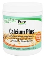 Image of Pure Essence Labs - Ionic-Fizz Calcium Plus Orange-Vanilla Flavor - 14.82 oz.