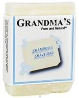 Remwood Products Co. - Grandma's Pure & Natural Shampoo & Shave Bar - 4 oz. (072711660125)