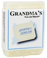 Remwood Products Co. - Grandma's Pure & Natural Shampoo & Shave Bar - 4 oz. - $4.89