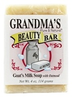 Remwood Products Co. - Grandma's Pure & Natural Beauty Bar Oatmeal/Almond - 4 oz. (072711610106)