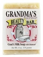 Remwood Products Co. - Grandma's Pure & Natural Beauty Bar Oatmeal/Almond - 4 oz. by Remwood Products Co.