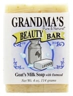 Remwood Products Co. - Grandma's Pure & Natural Beauty Bar Lavender/Oatmeal - 4 oz. (072711610076)