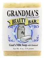 Remwood Products Co. - Grandma's Pure & Natural Beauty Bar Lavender/Oatmeal - 4 oz. by Remwood Products Co.