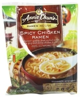Image of Annie Chun's - Ramen House Spicy Chicken Ramen - 4.7 oz.