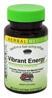 Herbs Etc - Vibrant Energy Professional Strength Alcohol Free - 30 Softgels